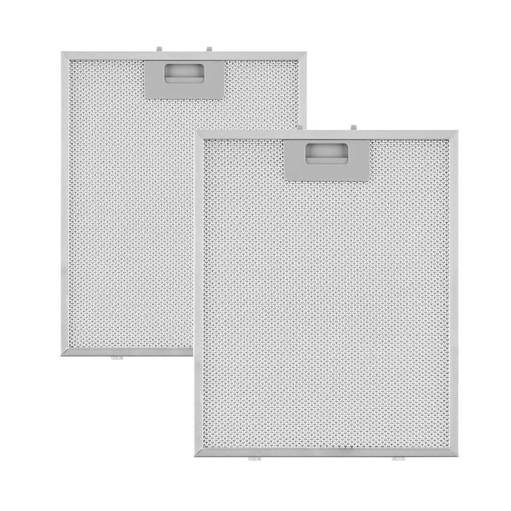 Klarstein Klarstein Set 2 filtres à graisse de rechange pour hotte murale aspirante Sabia 23,8 x 31,8cm - aluminium