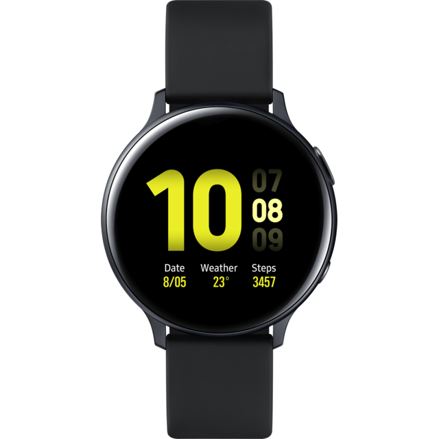 Samsung - Galaxy Watch Active 2 - 44 mm - Alu Noir  - Objets connectés reconditionnés