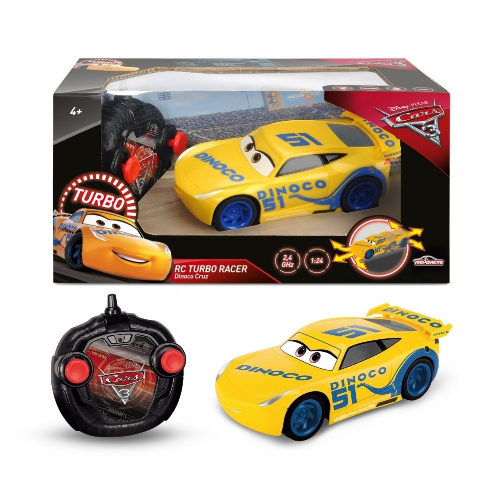 Smoby DISNEY - CARS 3 - Voitue RC Cruz - 213084004.
