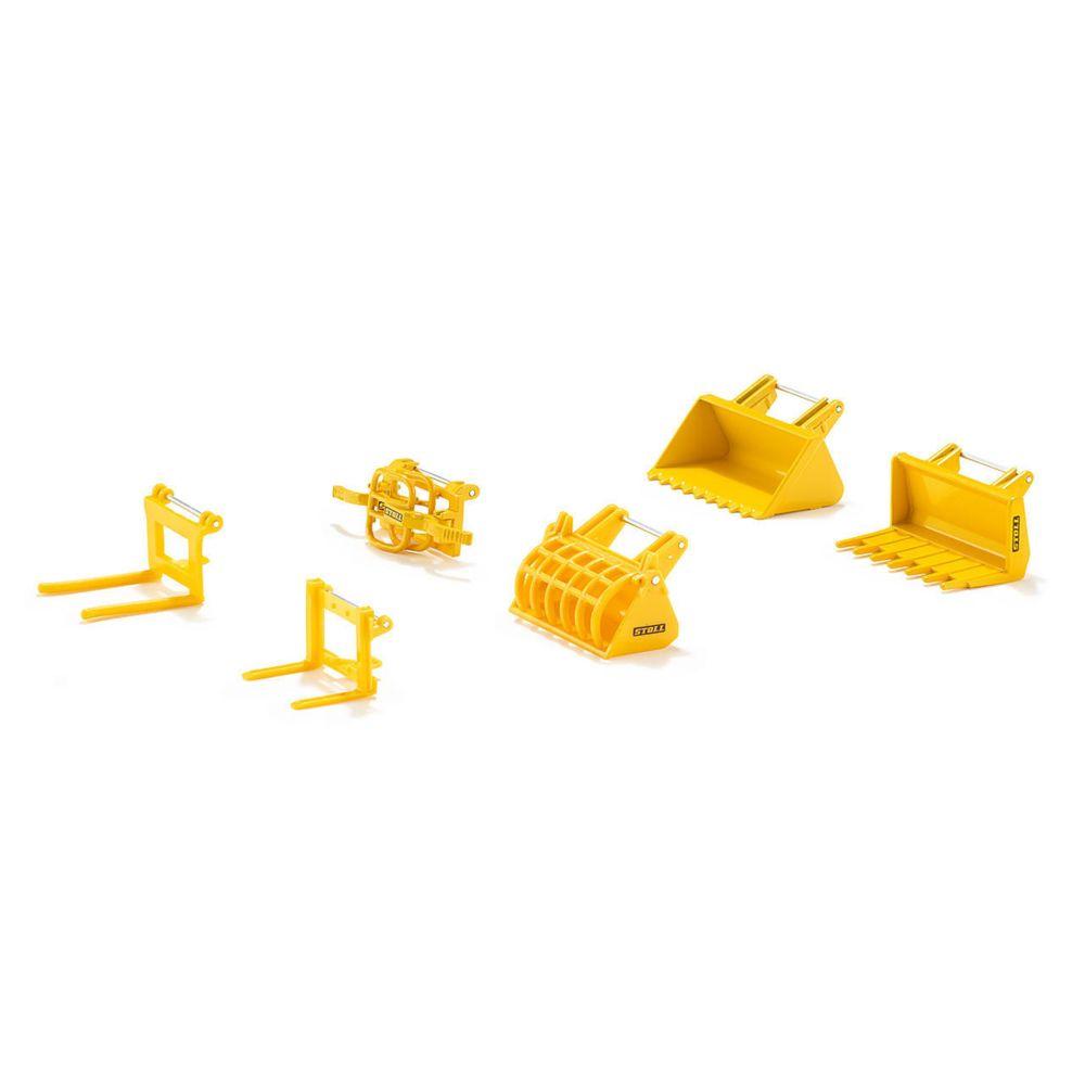 Sieper Set d'Accessoires pour Chargeur Frontal
