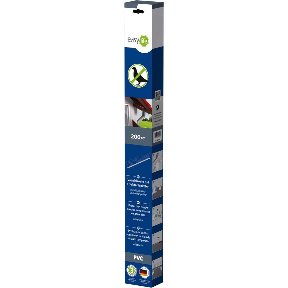 Easy Life Protection contre oiseaux 4x50 cm 60 piques