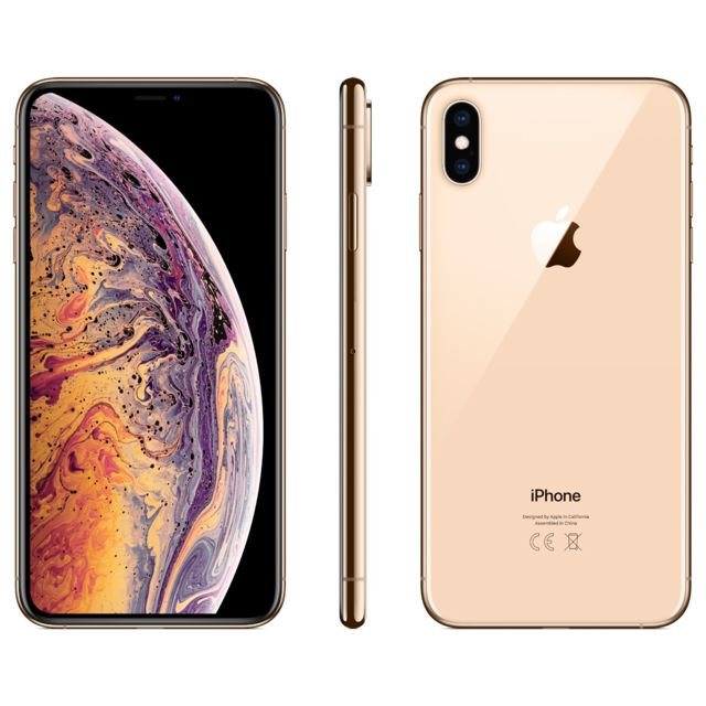 Apple - iPhone XS Max - 256 Go - MT552ZD/A - Or - iPhone 256 go
