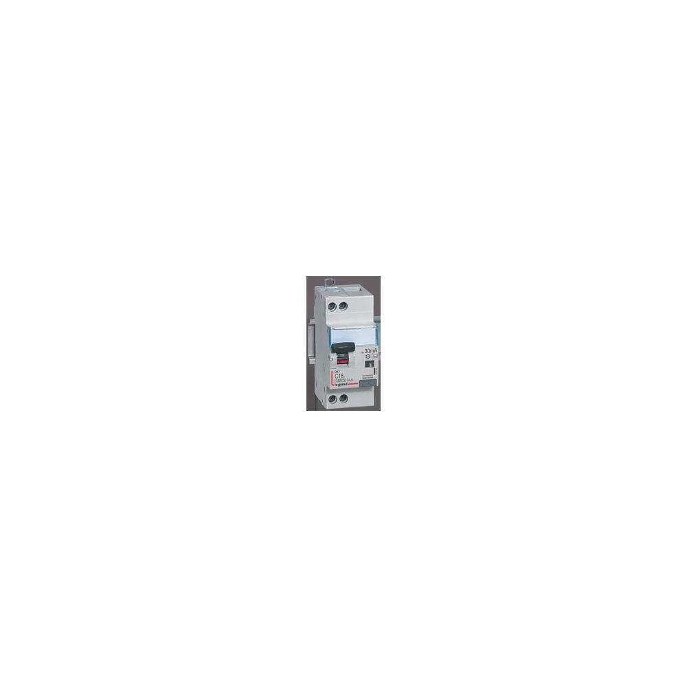Legrand Disjoncteur différentiel 10A 30mA DX³ 4500 vis/vis Unis +Neutre Legrand
