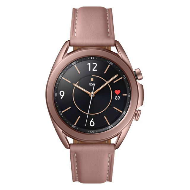 Samsung - Galaxy Watch 3 - 41 mm - SM-R850NZDAEUB - Bronze - Objets connectés