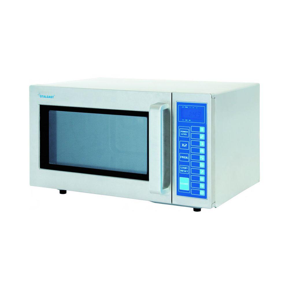 Materiel Chr Pro Four Micro-Ondes Electronique 3 Niveaux de Puissance 1000 W - Stalgast - Inox 25 Li