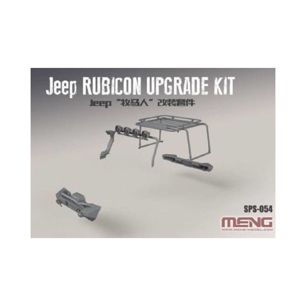 Meng Jeep Rubicon Upgrade Kit - Accessoire Maquette
