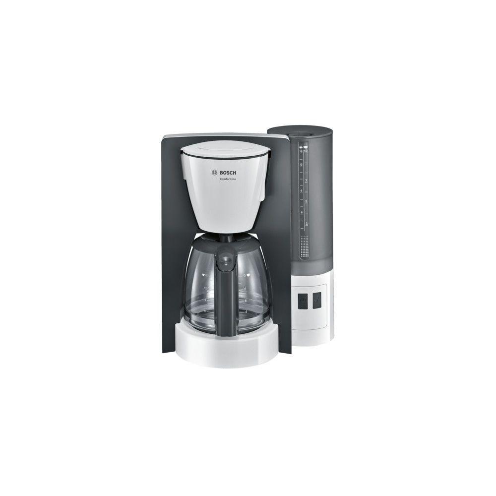 Bosch BOSCH Cafetière Filtre 15 Tasses Aroma+ Blanc/Gris TKA6A041