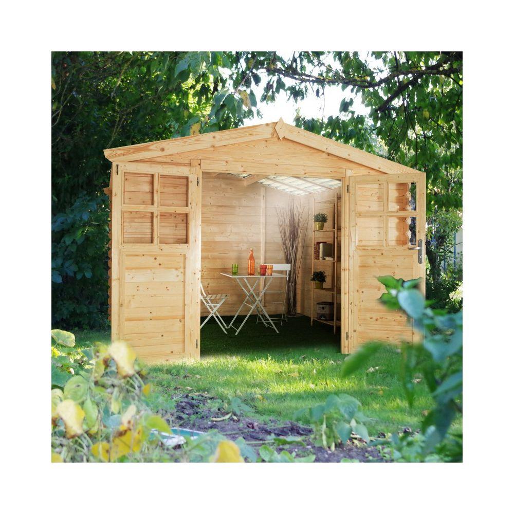 Chalet & Jardin TORONTO 320 - Abri de jardin - 3 x 2 M - 5,95 m² - 28mm
