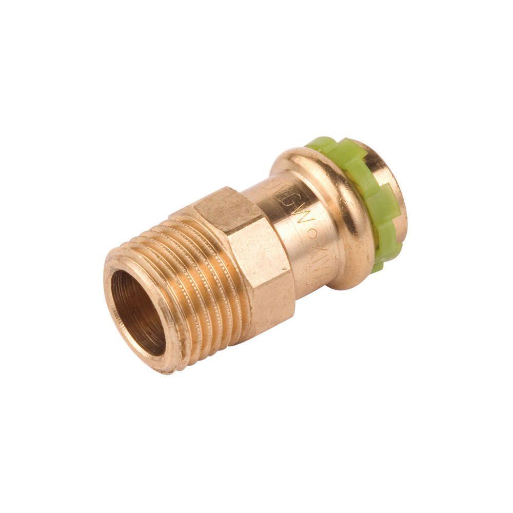Comap mamelon à sertir - pour cuivre - diamètre 54 mm - filetage mâle - 50 x 60 - comap 4243gvw542