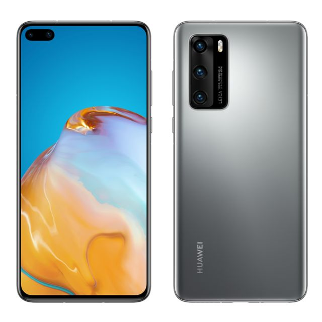 Huawei - P40 - 128 Go - 5G - Silver Frost - Huawei reconditionné