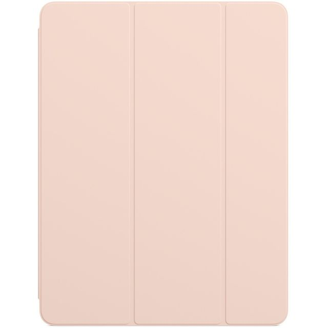 Apple - Smart Folio iPad Pro 12.9 pouces - MVQN2ZM/A - Rose des sables Apple   - Housse, étui tablette Polyuréthane