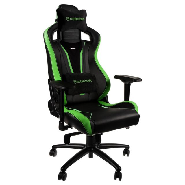 Noblechairs - EPIC - Sprout Edition - Noir/Vert - Chaise gamer