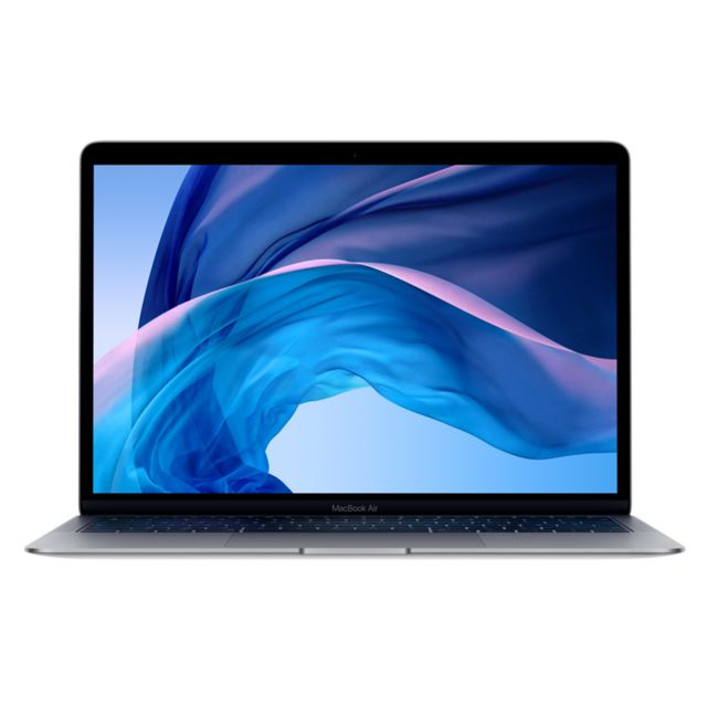 Apple - MacBook Air 13 - 128 Go - MRE82FN/A - Gris Sidéral - Ordinateur portable reconditionné