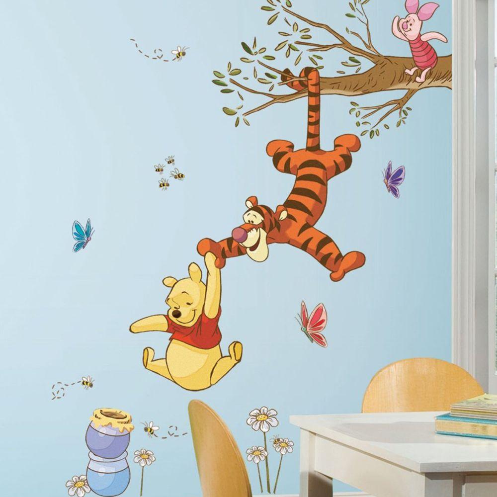 Roommates Stickers géant Arbres Magique Winnie l'Ourson Disney