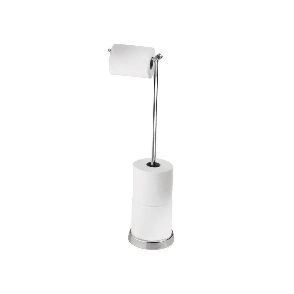 Interdesign Dérouleur papier toilette argenté