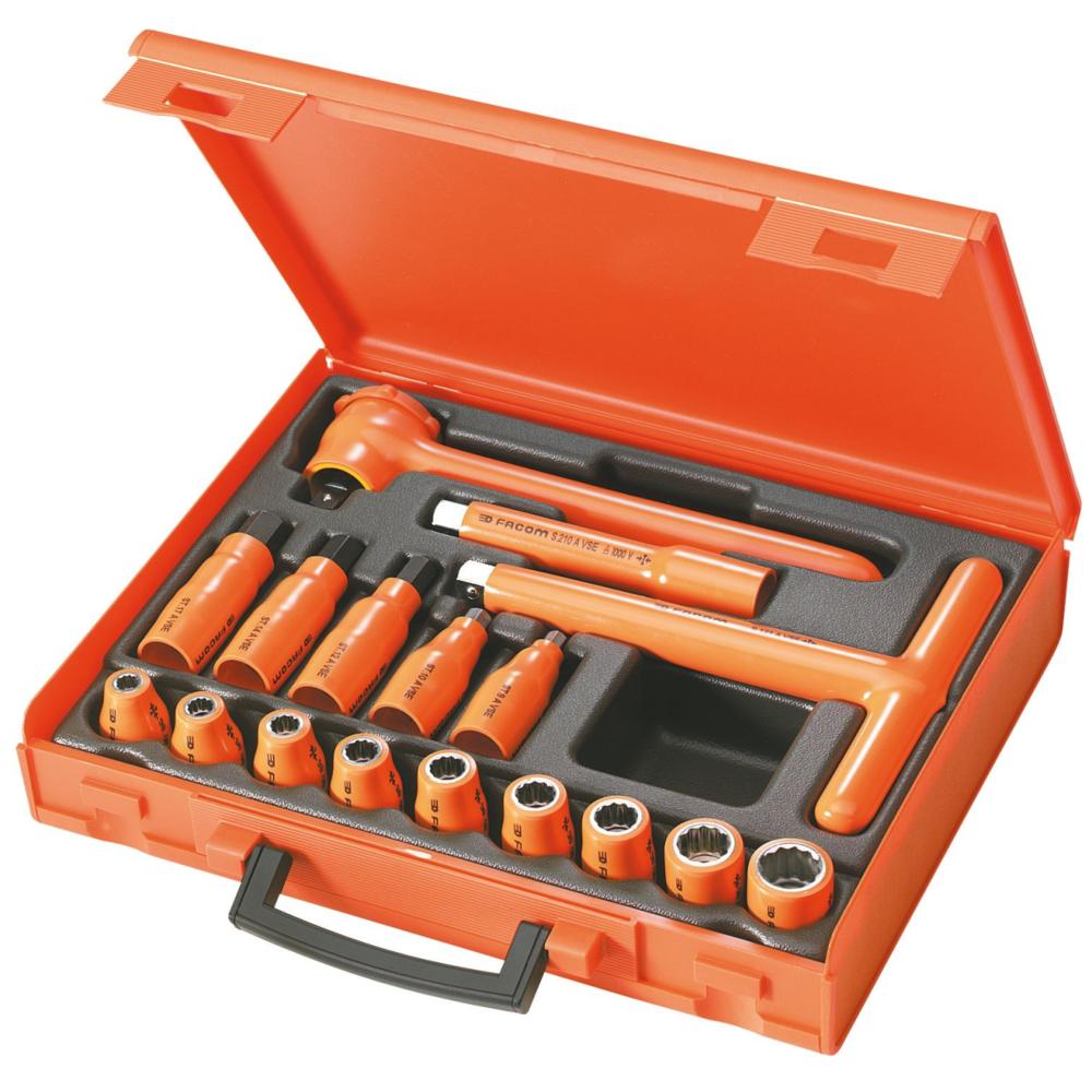 Facom Composition de 17 outils isolés 1000 Volts série Facom S.401AVSE