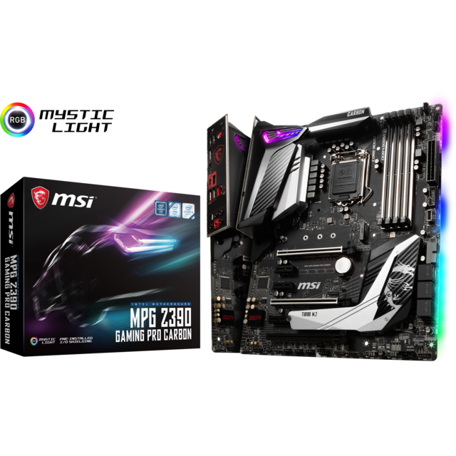 Msi - Intel Z390 GAMING PRO CARBON - ATX - Carte mère Intel