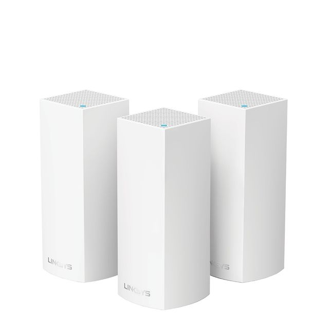 Linksys -Routeur Wifi AC 2200 Mbps multiroom - pack de 3 bornes Linksys  - Linksys