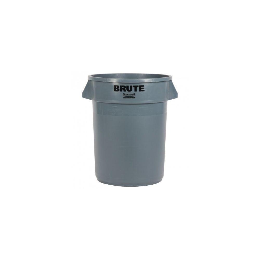 Rubbermaid Collecteur de déchets gris - 75,7L - Rubbermaid - 75,7 l