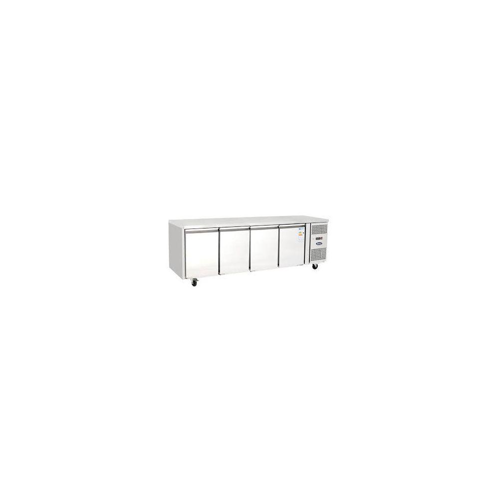 Atosa Table Réfrigérée Tropicalisé - 4 Portes - 2230 mm - Atosa - 600