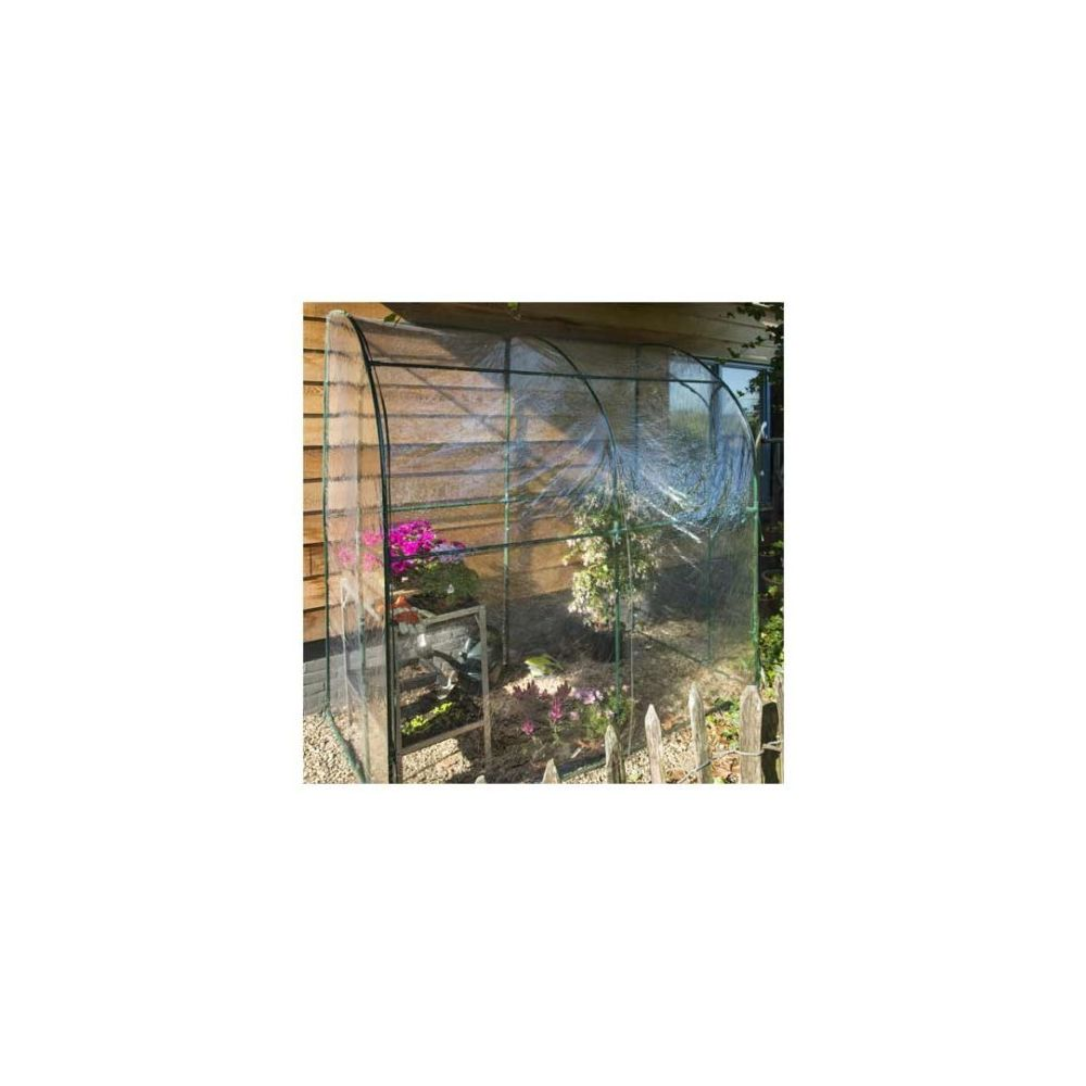 Nature Serre de jardin adossée 2 m² - longueur : 200