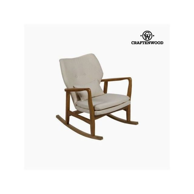 Craften Wood - Fauteuil à Bascule Bois (88 x 53 x 54 cm) by Craftenwood - Salons complets
