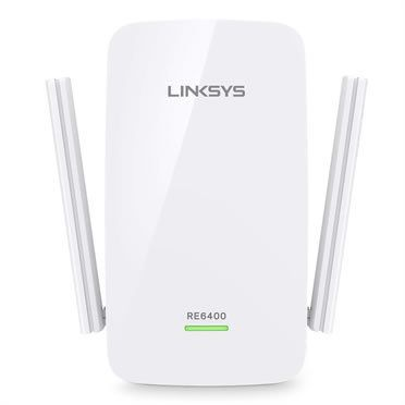 Linksys - Linksys RE6400 Répéteur WiFi universel AC1200 double bande, antennes externes, port Gigabit - Linksys