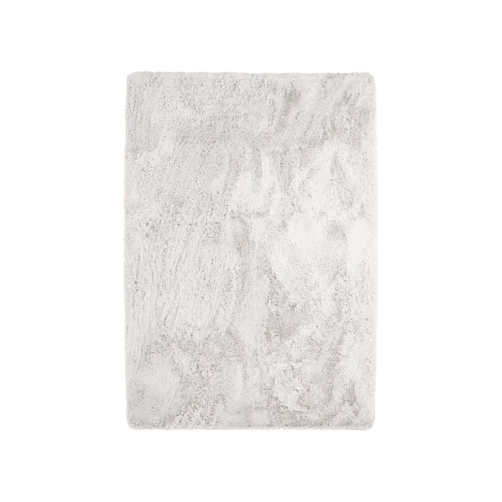 Mon Beau Tapis NEO YOGA - Tapis à poils longs extra-doux blanc 160x230