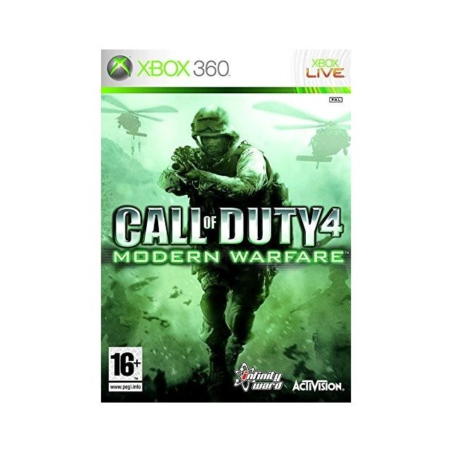 Activision - Call of Duty 4 Modern Warfare Activision   - Jeux XBOX 360