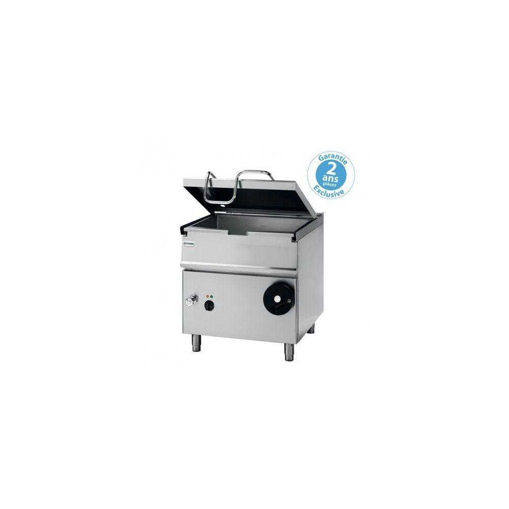 Materiel Chr Pro Sauteuse professionnelle basculante gaz - 80 litres - relevage motorisé - Tecnoinox -