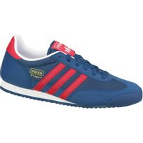adidas dragon bleu et rouge