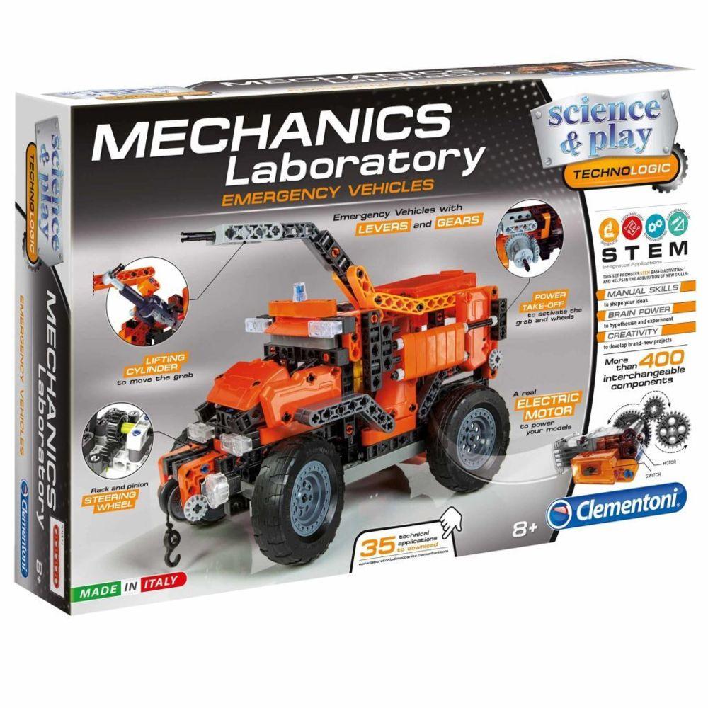Clementoni Clementoni Jeu construction laboratoire mécanique Science & Play 66827