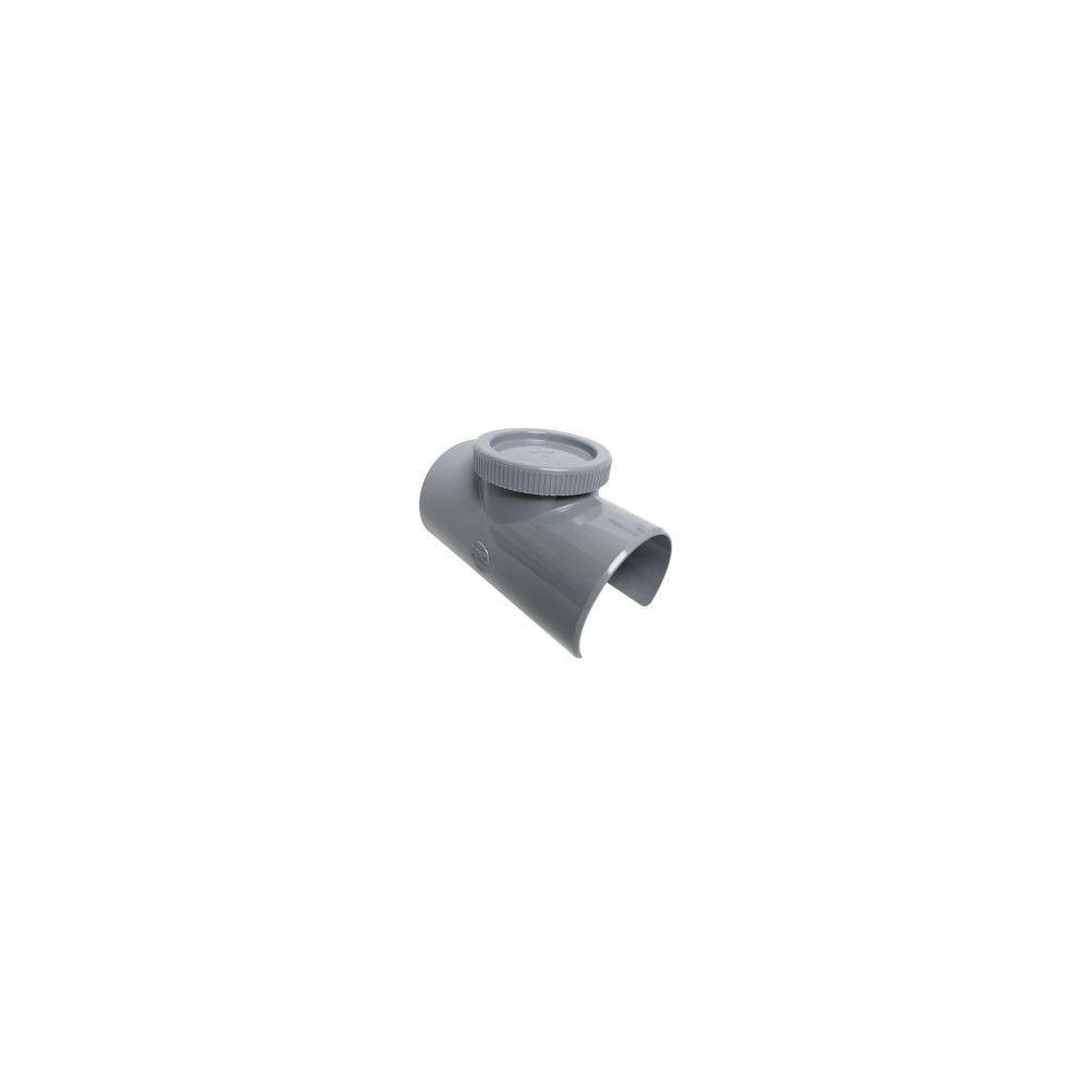 Nicoll Selle de branchement à 90° - SLV109 - avec bouchon de visite - Ø 100/90 mm