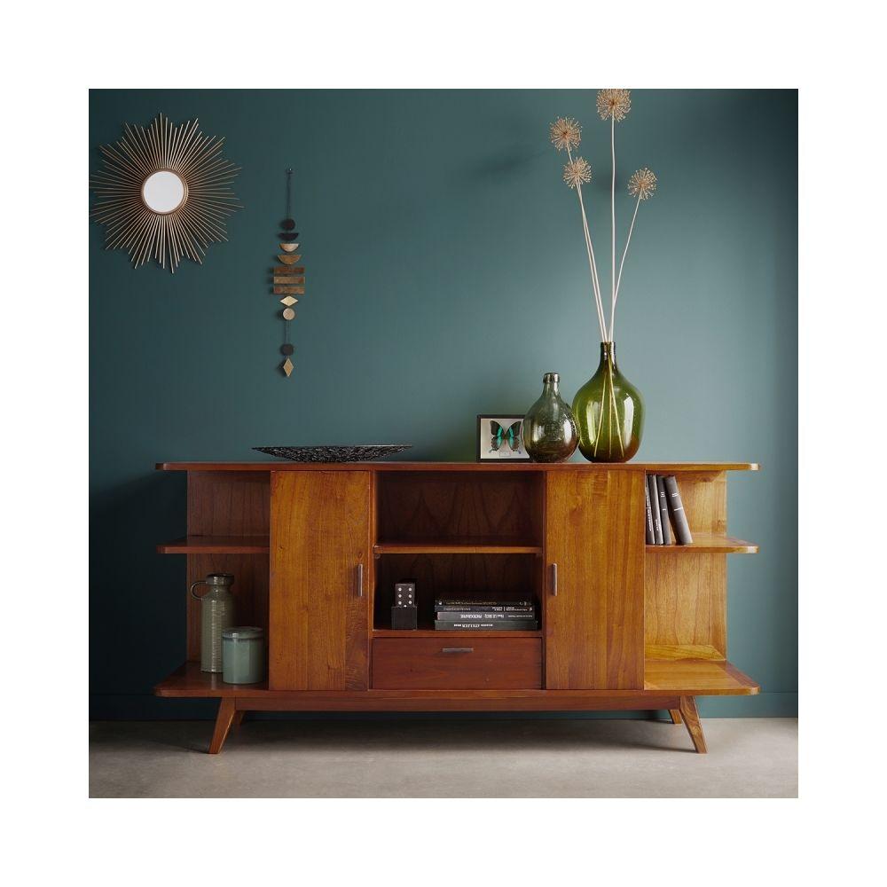 Bois Dessus Bois Dessous Buffet vintage en bois de mindy 2 portes 1 tiroir