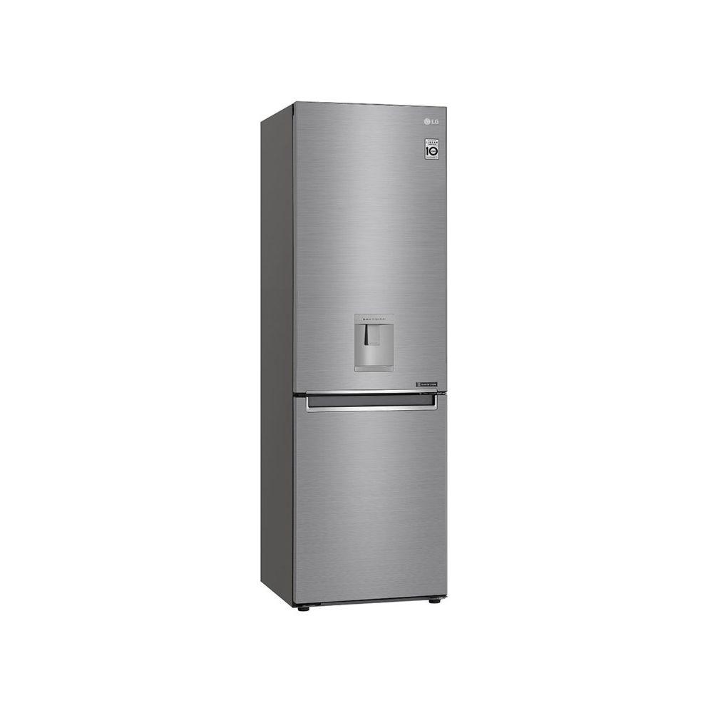 LG lg - réfrigérateur combiné 60cm 336l a++ no frost inox - gbf61pzjzn