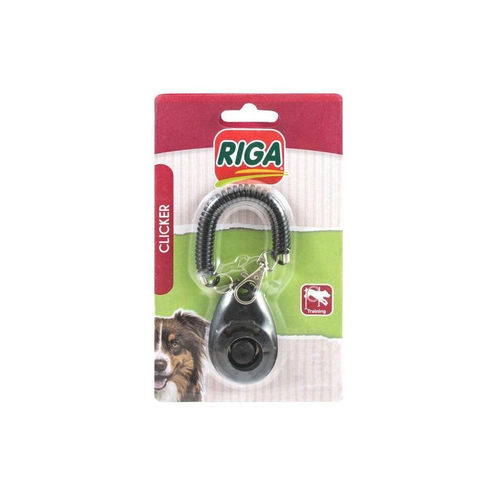 Riga RIGA Clicker de rappel S / B - Noir - Pour chien