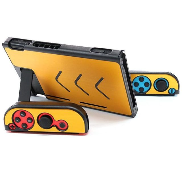 marque generique - Coque Protection Etui Rigide Console Nintendo Switch NS NX Joy-Con Joy-stick GD - Accessoire Switch
