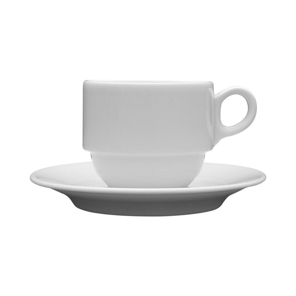 Materiel Chr Pro Tasse à Café Porcelaine Wersal 110 ml - Lot de 12 - Stalgast - 6,5 cm Porcelaine 11