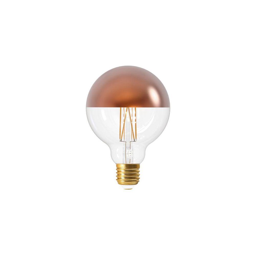 Girard Sudron Globe D95 Filament LED 'Calotte Bronze' 8W E27 2700K 950Lm Dim.