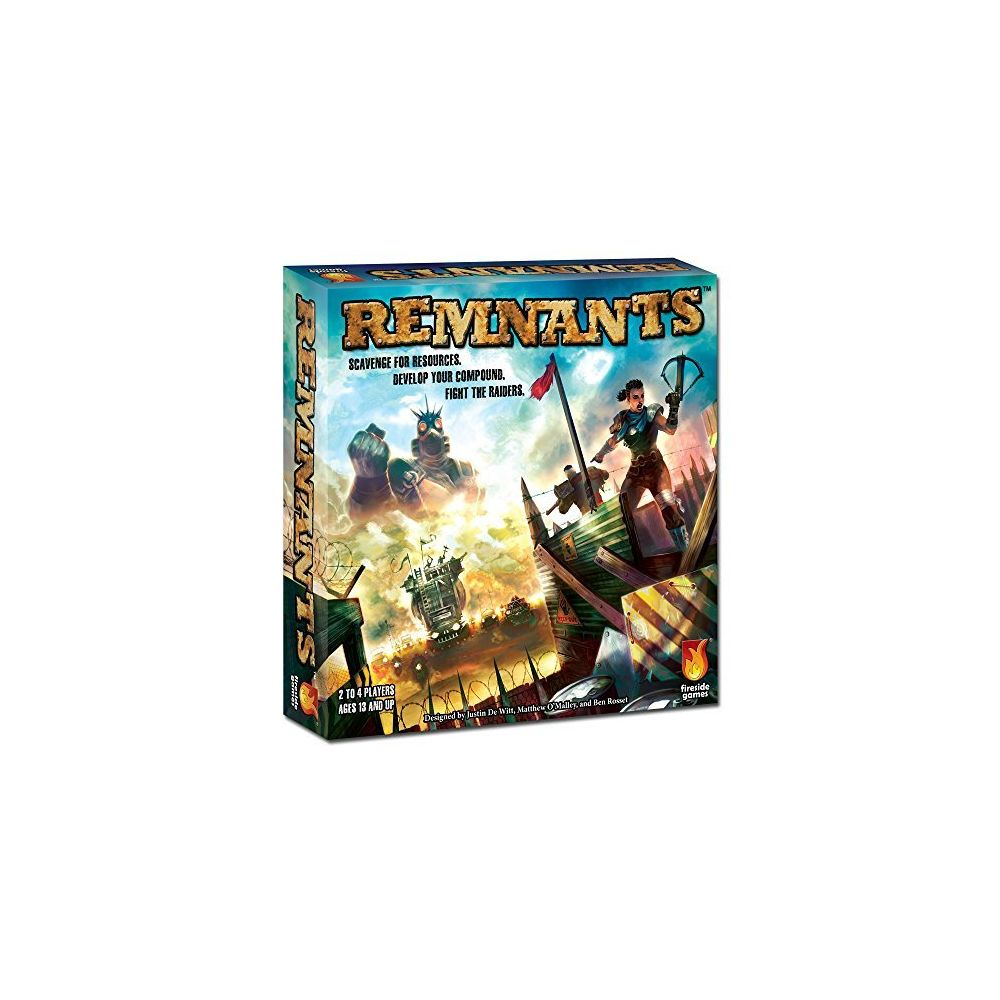 Fireside Games Fireside Games Remnants Board Game - Board Games for Families - Board Games for Kids 10 and up
