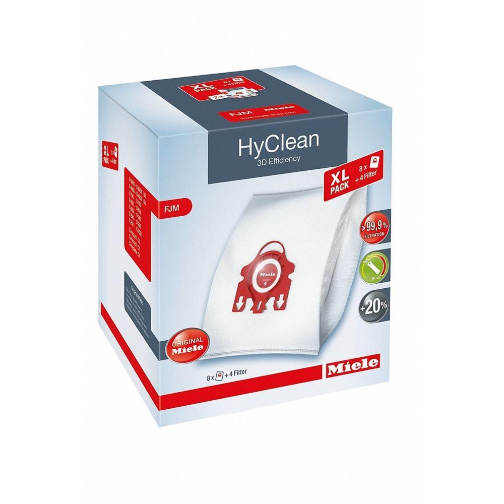 Miele Pack de 8 sacs aspirateur - FJM XL HyClean 3D