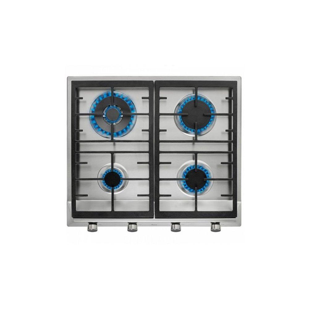 Teka Plaque au gaz Teka EX60.1 4G AIAL 60 cm Acier inoxydable Noir (4 cuisinière)