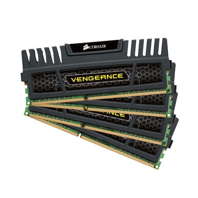 Corsair - Lot de 2 Kit de mémoire Vengeance Series 8 Go DDR3 1600 MHz CL9 CORSAIR - Corsair