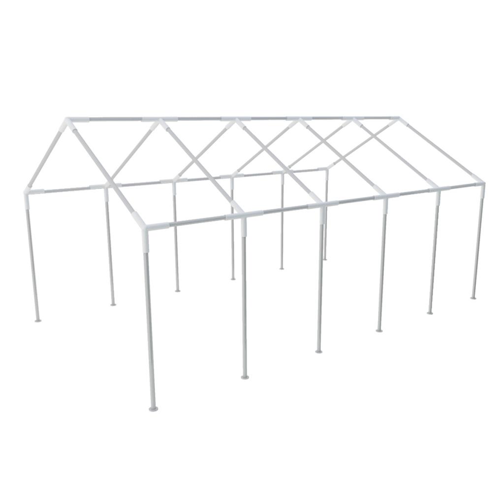 Vidaxl vidaXL Structure de tente chapiteau pavillon jardin 10 x 5 m
