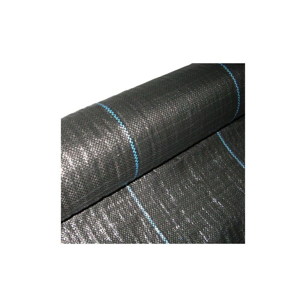 Brixo Toile de paillage noire Larg 1,60m - Long 10m - 100g/m2
