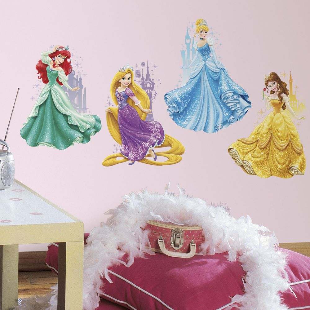 Roommates Stickers Princesse Disney Château Repositionnables
