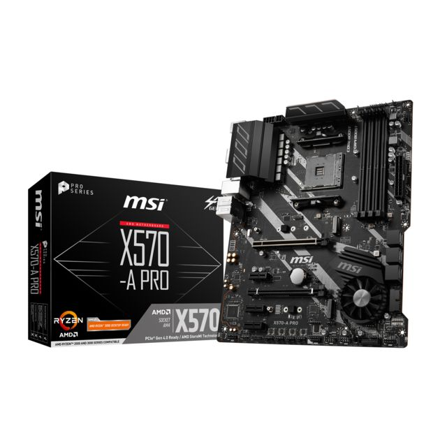 Msi - AMD X570 PRO - ATX Msi   - Composants
