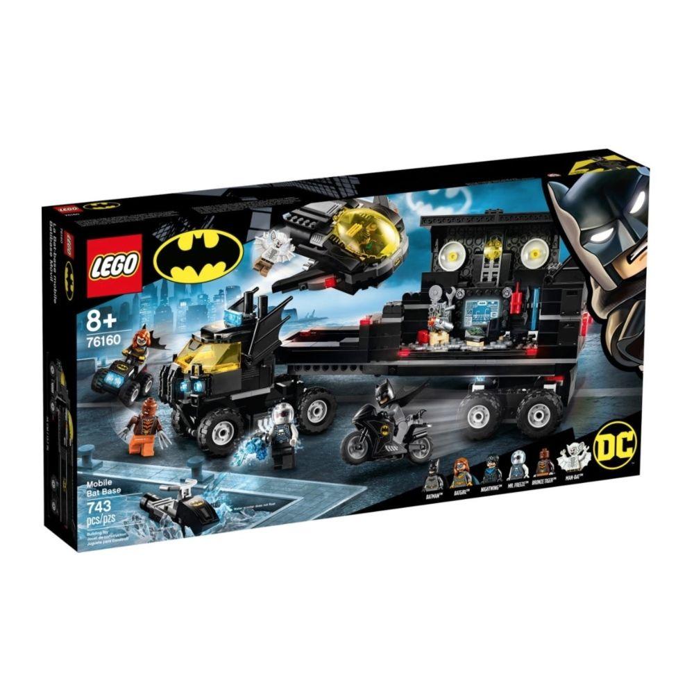 Lego 76160 La base mobile de Batman LEGO DC Comics Super Heroes