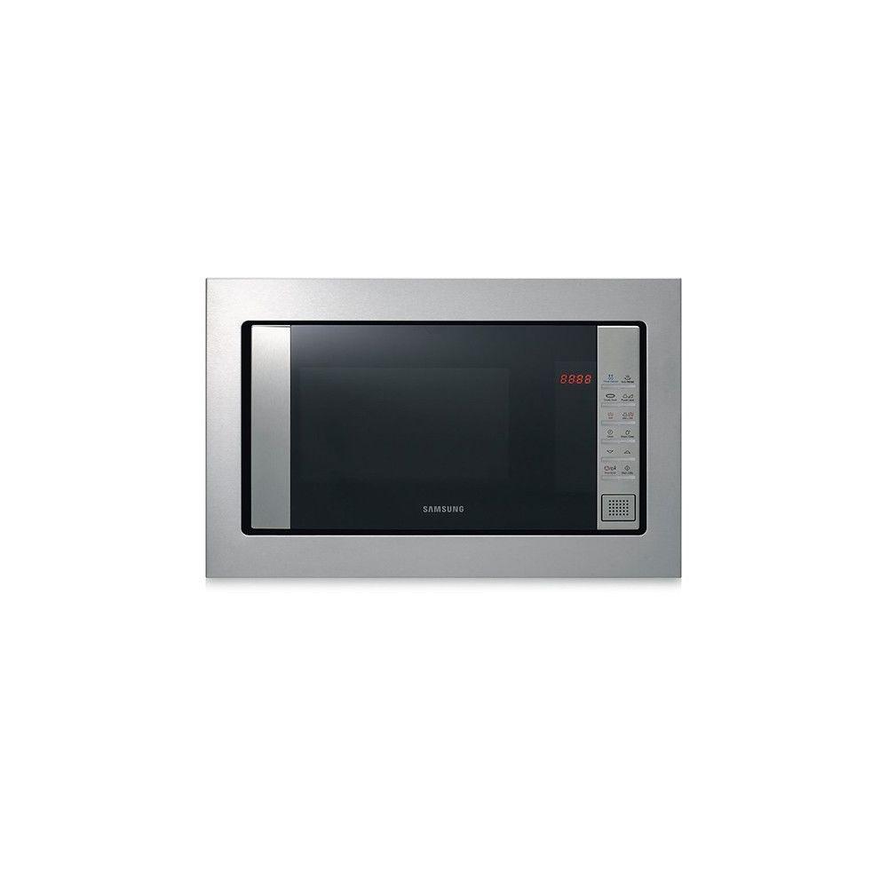 Totalcadeau Micro-ondes rectangulaire avec Gril et livre de cuisine - 800 W avec plateau tournant