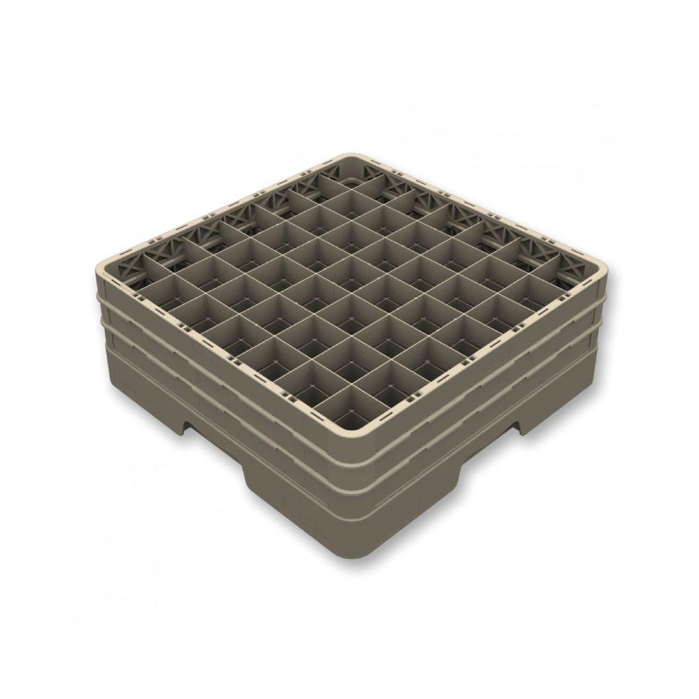 Pujadas Casier de Lavage Fermé pour 49 Verres - H 140 à 300 mm - Pujadas - Polypropylène 220 mm